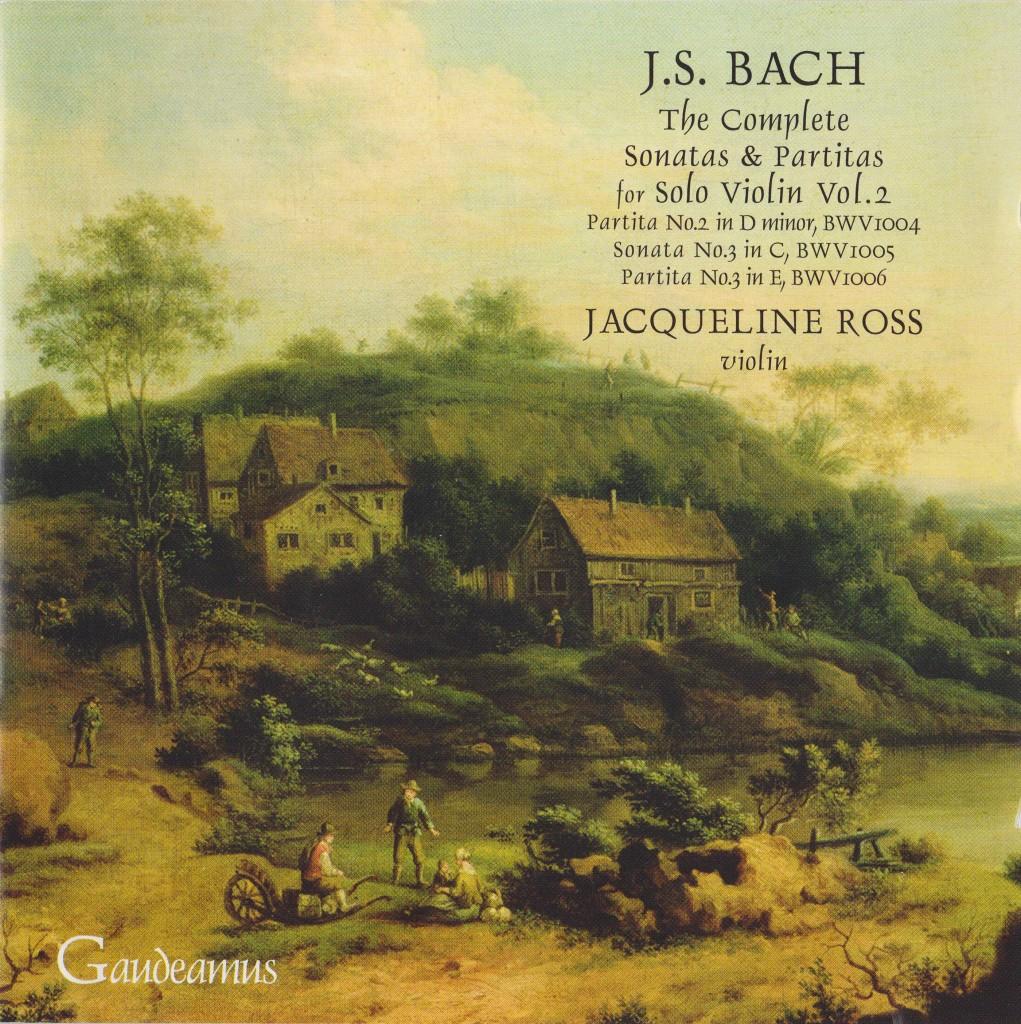 bach solo violin vol2