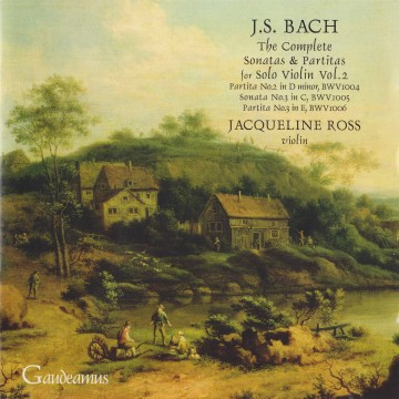 bach solo violin vol2
